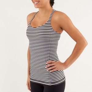 LULULEMON | Free To Be Tank Top Striped | Sz. 2